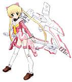 PSP『ハヤテのごとく! ナイトメアパラダイス』武装神姫ナギ