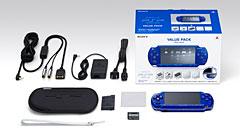 PSP「プレイステーション・ポータブル」 メタリック・ブルー