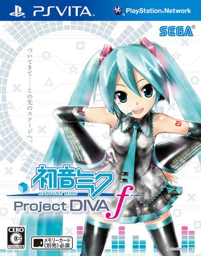 PS Vita『初音ミク Project DIVA f』 画像大