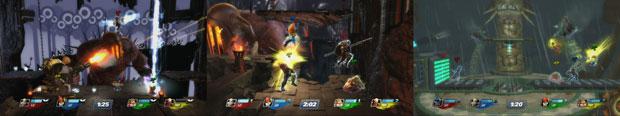 PS3『PlayStation All-Stars Battle Royale』スクリーンショット
