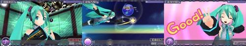 PSP『初音ミク プロジェクトディーヴァ』