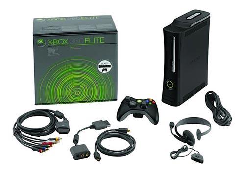 Xbox 360 Elite 同梱内容