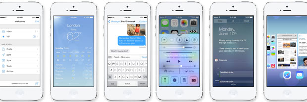 iOS7各種画面