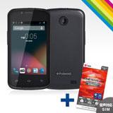 SIMフリー3GスマホPolaroid pigu+OCN モバイル ONE 音声対応SIMセット