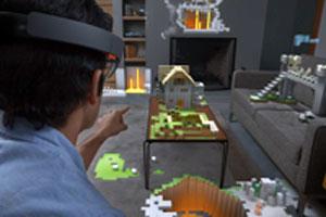 VRヘッドマウント「HoloLens」