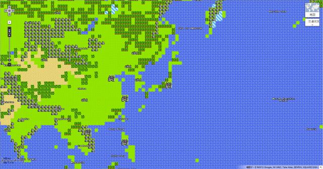 ドラクエ風Googleマップ
